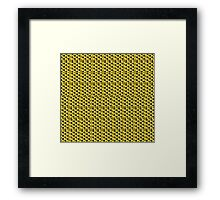 Triangled with you.  Framed Print