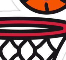 Basketball basket pleasure sports Sticker