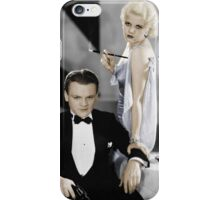 James Cagney and Jean Harlow iPhone Case/Skin