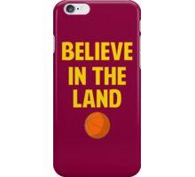 Believe in Cleveland 2016 iPhone Case/Skin