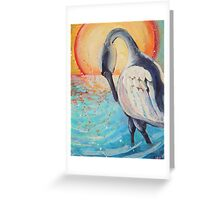 Sea Swan Greeting Card