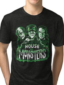 House of Monsters Tri-blend T-Shirt