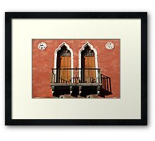 All About Italy. Venice 11 Framed Print