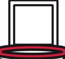 Basketball basket Sticker