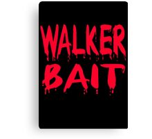Walker Bait Canvas Print