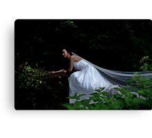 Balanis  - the bride Canvas Print