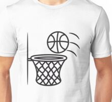 Basketball basket Unisex T-Shirt