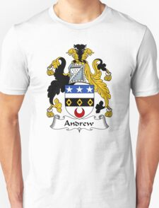 Andrew Coat of Arms / Andrew Family Crest T-Shirt
