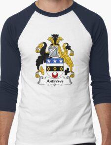 Andrews Coat of Arms / Andrews Family Crest Men's Baseball ¾ T-Shirt