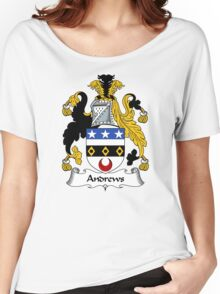 Andrews Coat of Arms / Andrews Family Crest Women's Relaxed Fit T-Shirt