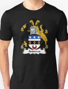 Andrews Coat of Arms / Andrews Family Crest Unisex T-Shirt