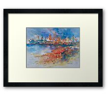 Town Beach Port Macquarie Framed Print