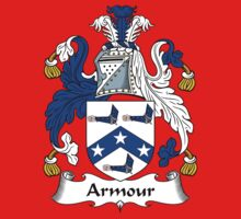 Armour Coat of Arms / Armour Family Crest Kids Clothes