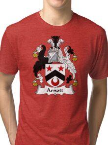 Arnott Coat of Arms / Arnott Family Crest Tri-blend T-Shirt
