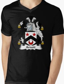 Arnott Coat of Arms / Arnott Family Crest Mens V-Neck T-Shirt