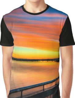 Pioneer River Sunset - Mackay, Qld Graphic T-Shirt
