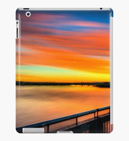 Pioneer River Sunset - Mackay, Qld iPad Case/Skin
