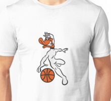 Basketball ball sports fighter Unisex T-Shirt