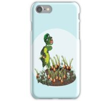 Greeny chases rabbits of his carrot patch ( 792 Views) iPhone Case/Skin
