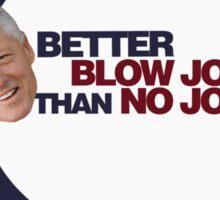 Clinton Humor Sticker