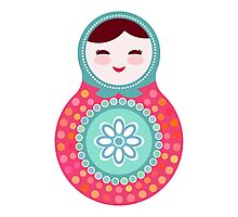 dolls matryoshka Photographic Print
