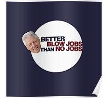Clinton Humor Poster