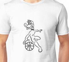 Basketball ball sports fighter Unisex T-Shirt