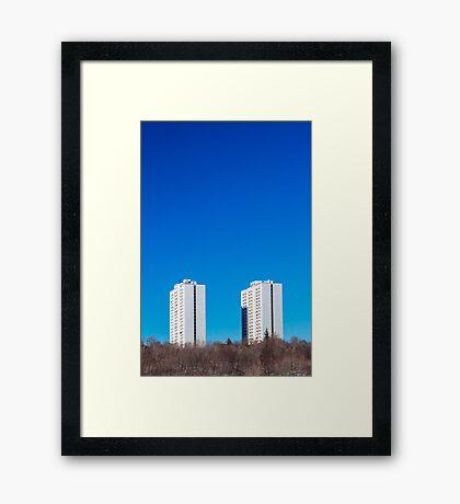 Toronto Apartment Towers Framed Print
