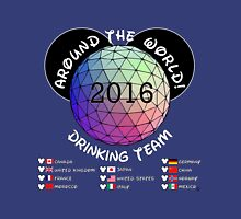 Around the World Drinking Team Unisex T-Shirt