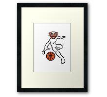 Basketball agro sport Framed Print