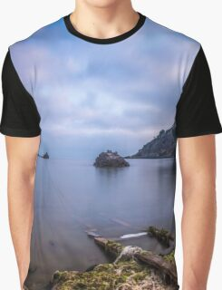 Seascape from a boat dock Graphic T-Shirt