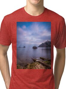 Seascape from a boat dock Tri-blend T-Shirt