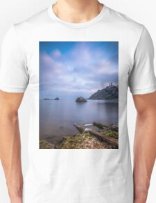 Seascape from a boat dock Unisex T-Shirt