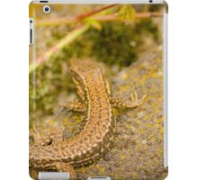 Two Salamanders enjoying a restful break iPad Case/Skin