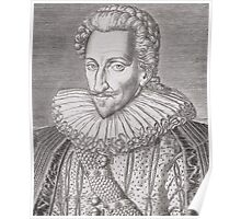 Henri IV (1553-1610) as King of Navarre Poster