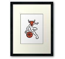 Basketball agro ball sport Framed Print