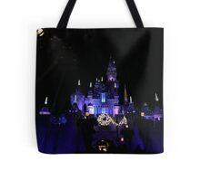 Disneyland Castle Diamond Celebration  Tote Bag