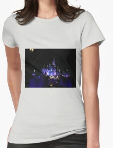 Disneyland Castle Diamond Celebration  Womens Fitted T-Shirt