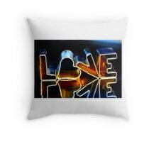 Love Letters II Throw Pillow