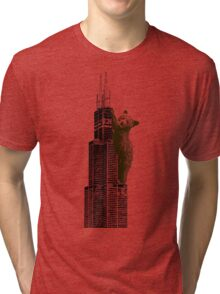 Sears Tower Cub Tri-blend T-Shirt