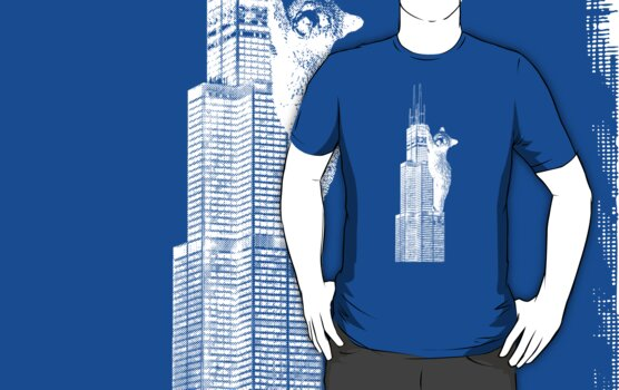 Sears Tower Cub_white by fohkat