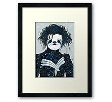 Edward Scissorsloth Framed Print
