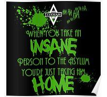 Batman - Arkham Asylum Poster