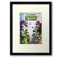 plants vs zombies warfare full Framed Print