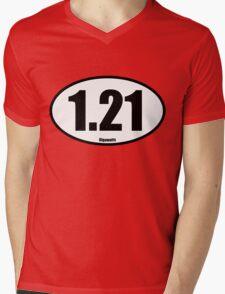 1.21 Gigawatts - Tee Shirt Mens V-Neck T-Shirt