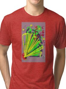 """Projection"" by Richard F. Yates Tri-blend T-Shirt"