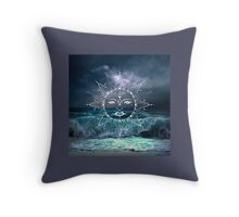 Sun Storm Throw Pillow