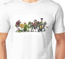 plants vs zombies all Unisex T-Shirt