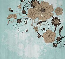 Floral Background by Olga Altunina