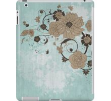Floral Background iPad Case/Skin